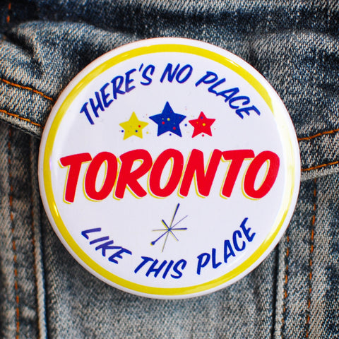 Ed's Toronto Button