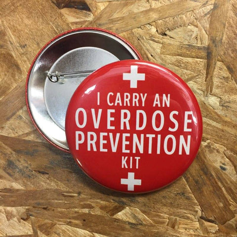 Overdose Prevention Kit Button