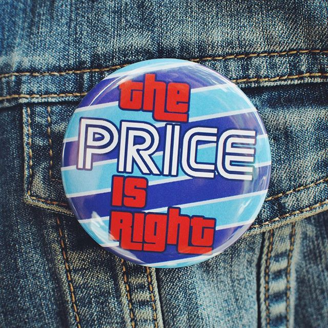 Price Is Right Button