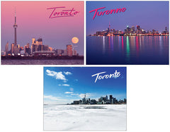 Toronto Skyline Postcards