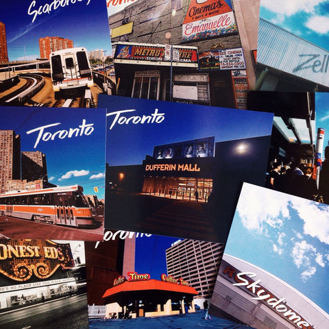 Real Toronto Postcards