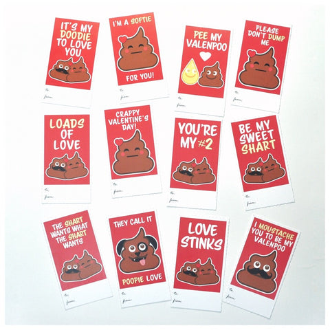 Valenpoo Card Set
