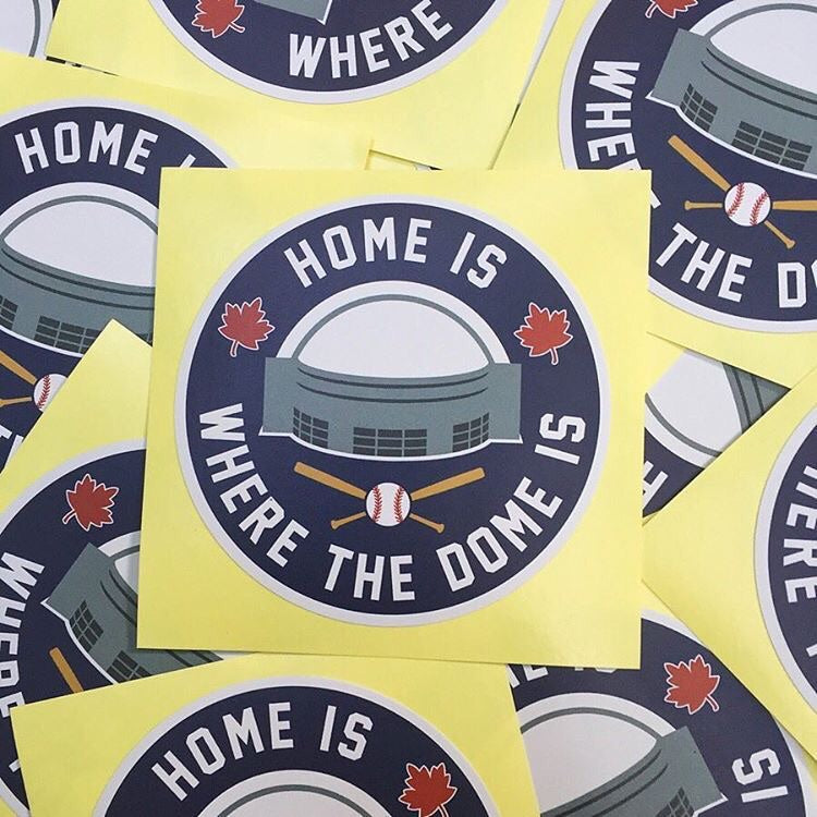 Home Is Where The Dome Is Sticker