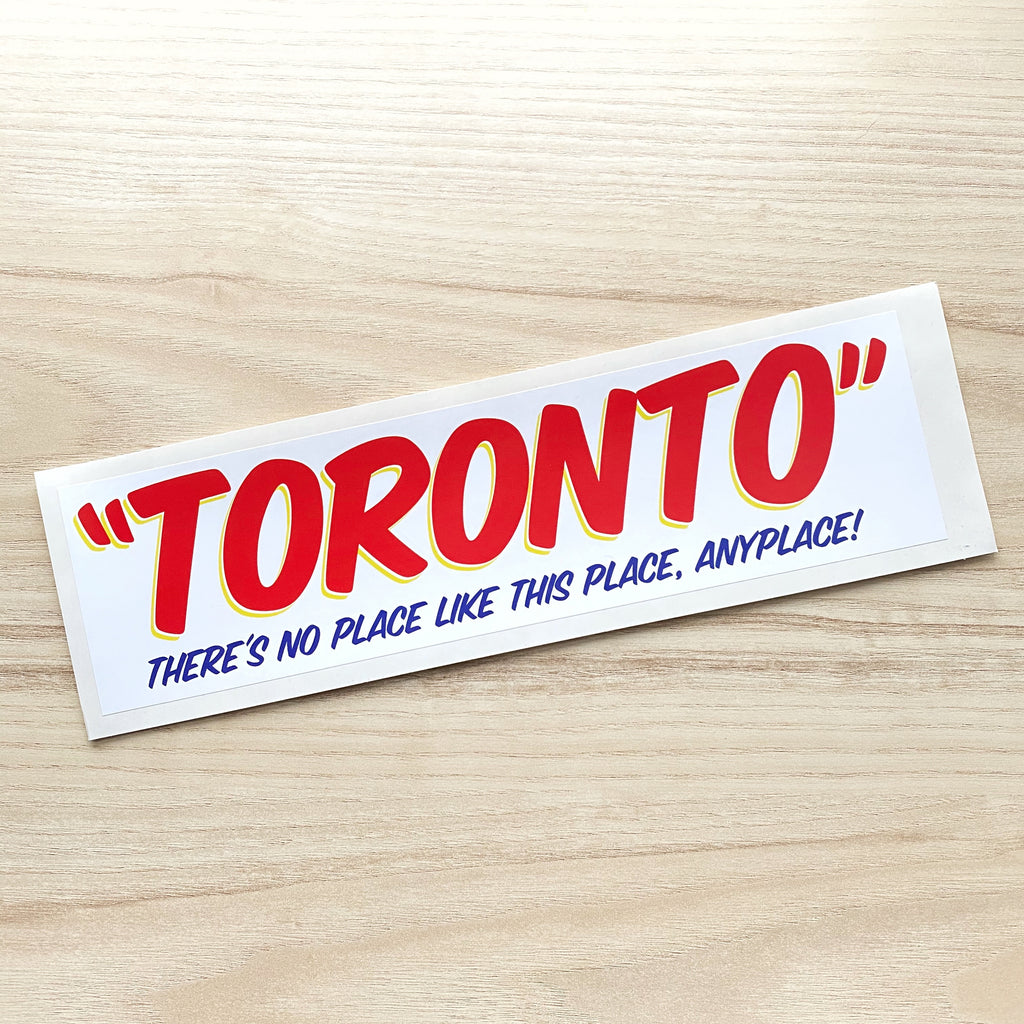 Large Ed's Toronto Sticker