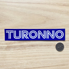 Turonno Sticker