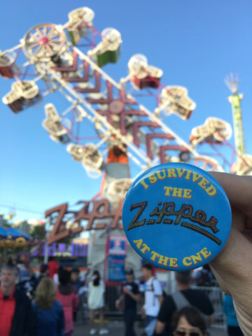 I Survived The Zipper Button