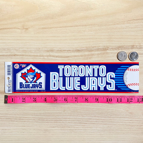 Vintage Blue Jays Bumper Sticker