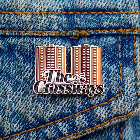 The Crossways Enamel Pin