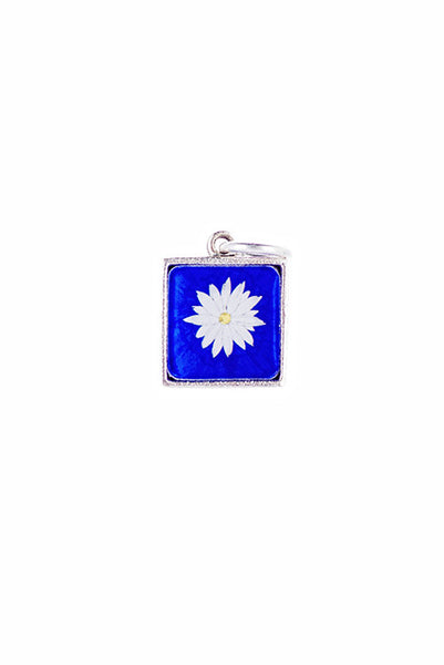 Flower Square Charm