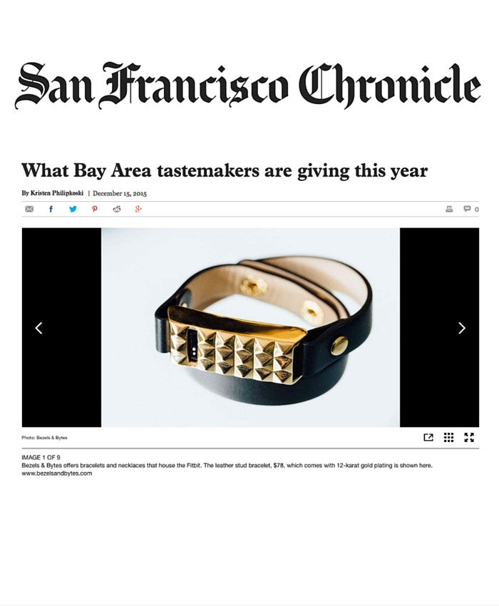 San Francisco Chronicle - 2015 Holiday Tastemaker Pick
