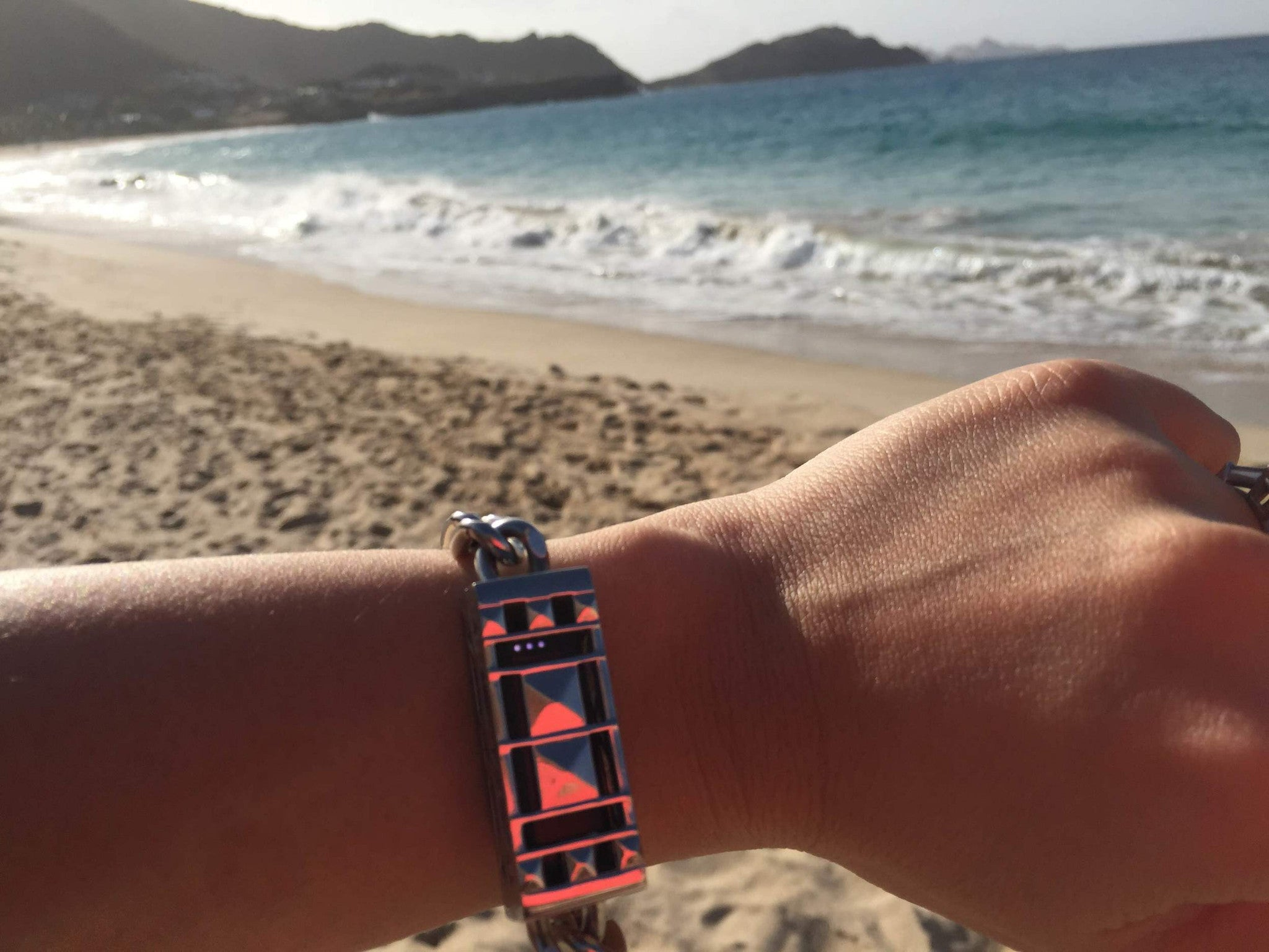 My vacation buddies: Fitbit and Bezels & Bytes