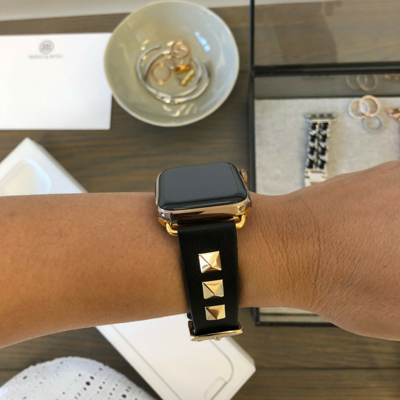 gold Series 4 apple watch