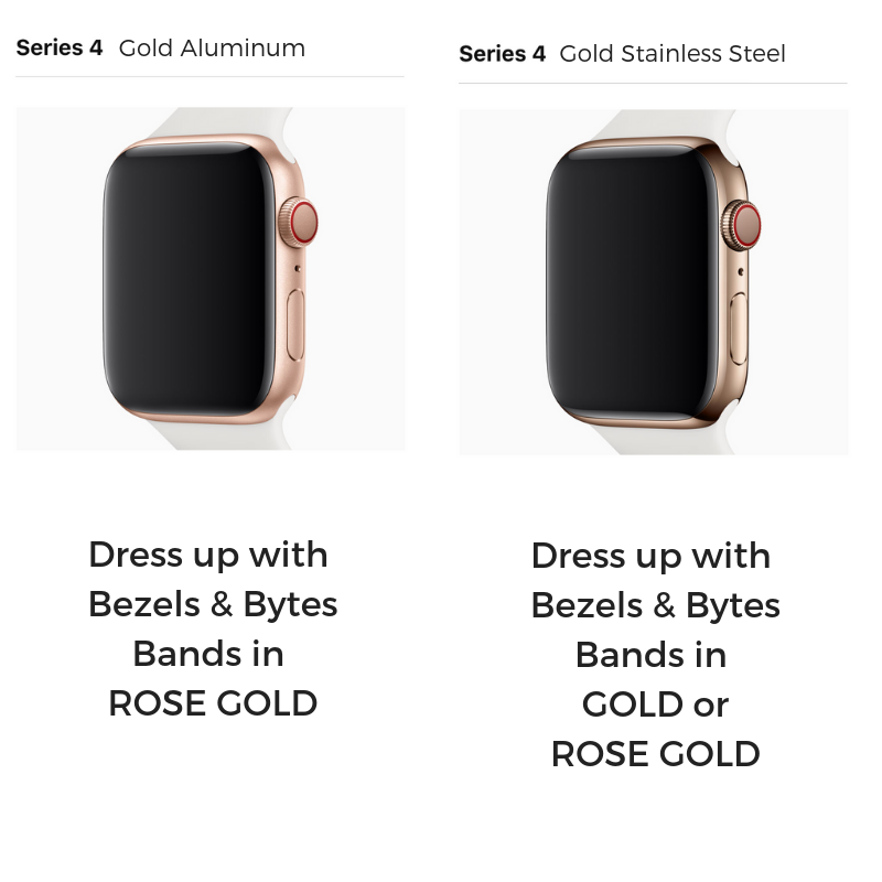 apple watch gold or rose gold