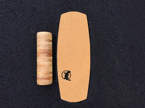 Cork Top Balance Board