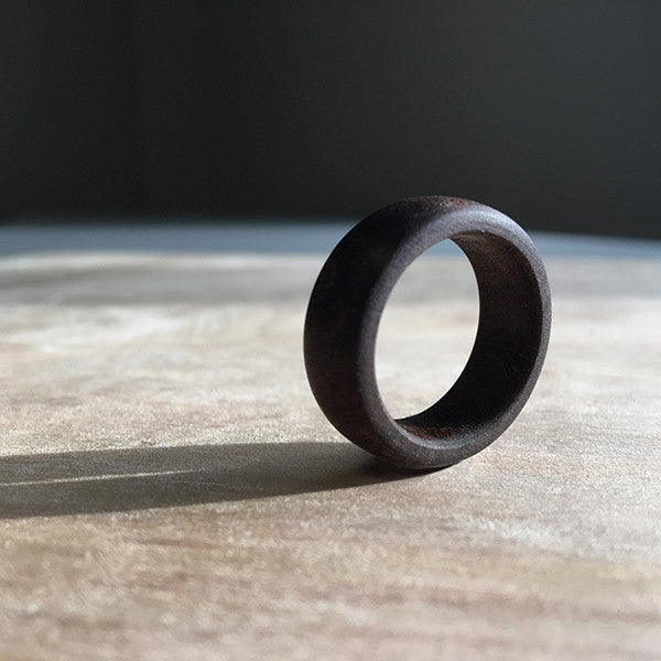 Blackwood Unisex Wooden Ring