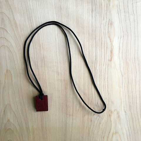 Purpleheart Oil Diffuser Necklace