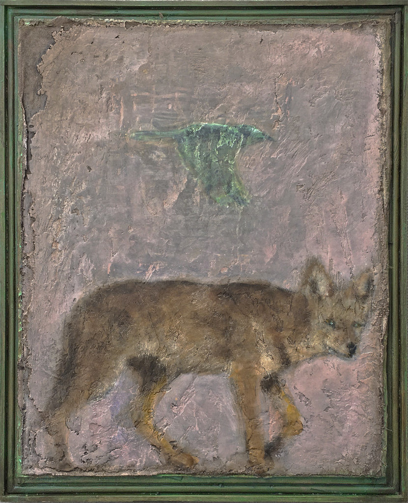 Coyote and Bird IV