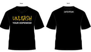 Unleash Your Dopeness™  V-Neck Tee (Women's)