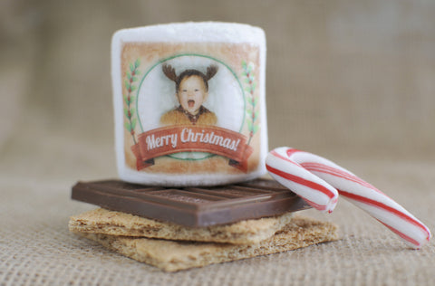 Merry Christmas / Holiday S'mores Favors
