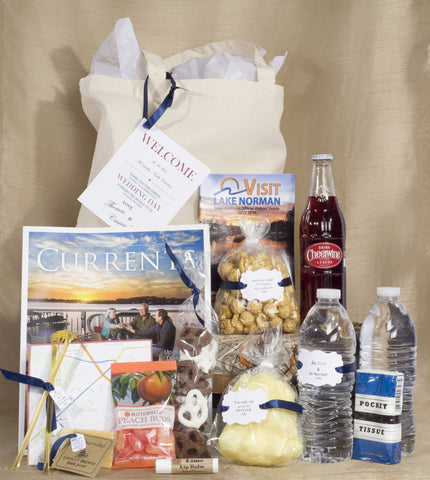 Deluxe Couple's Personalized Local Wedding and Welcome Bag
