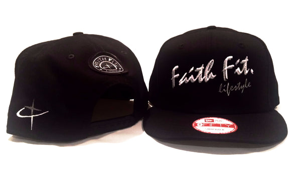 The Script. Faith Fit. Cap/ Snapback. Black