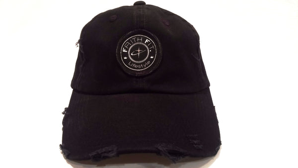 The Movement. Faith Fit. Cap/ Frayed. Black