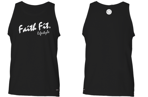 The Script. Faith Fit. Tank / Black-MENS