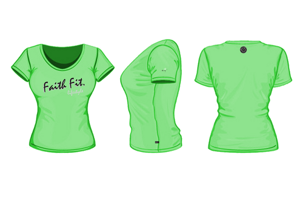 the-script-t-shirt-womens-neon lime