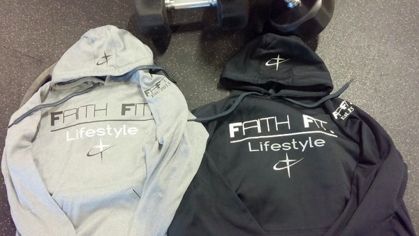 Faith Fit. Traditional. Hoodie Mens