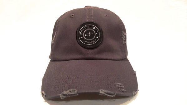 The Movement. Faith Fit. Cap/ Frayed. Grey