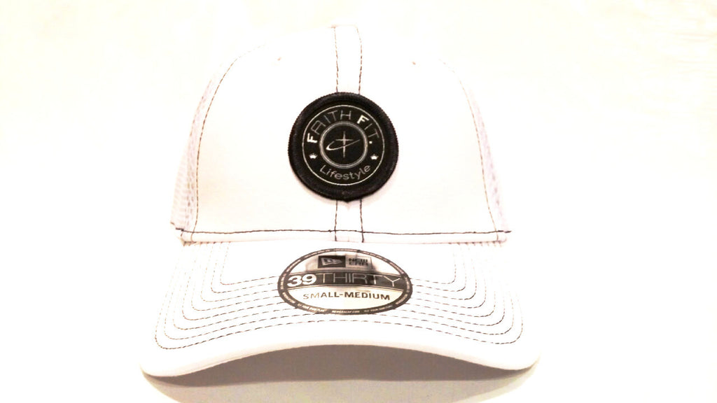 The Movement. Faith Fit. Cap/Flex-Fit. White-MENS
