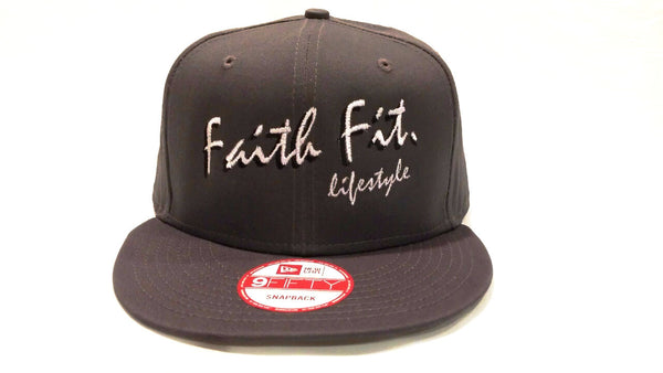 The Script. Faith Fit. Cap/ Snapback. Grey