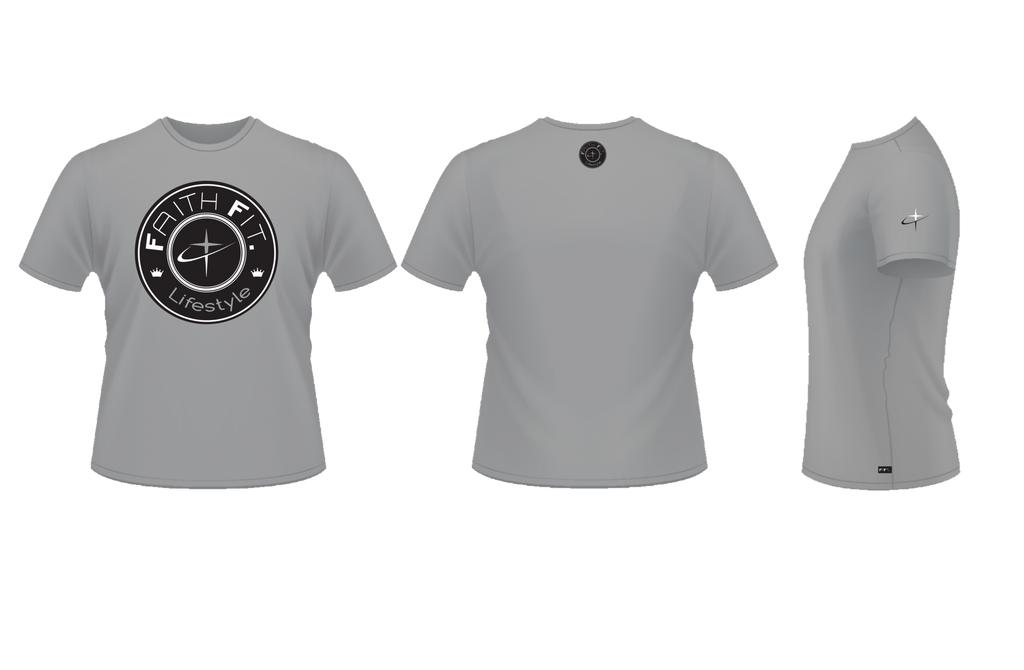 The Movement. Faith Fit. DR-FIT Blend T'/ Steel-MENS