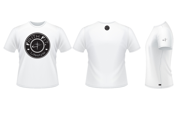 The Movement. Faith Fit. DR-FIT Blend T'/ White-MENS