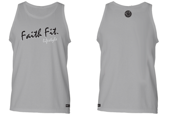 The Script. Faith Fit. Tank / STEEL-MENS