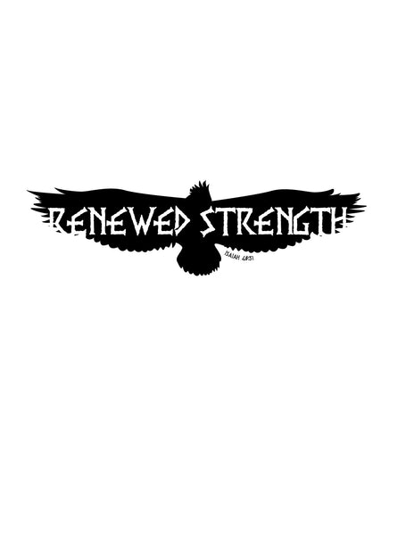 Renewed Strength. T Shirt Mens