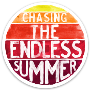 Chasing The Endless Summer - Sticker
