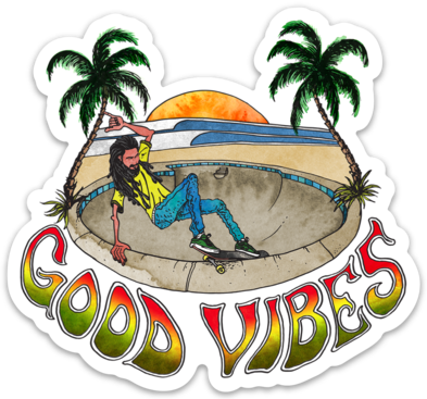 Good Vibes - Sticker