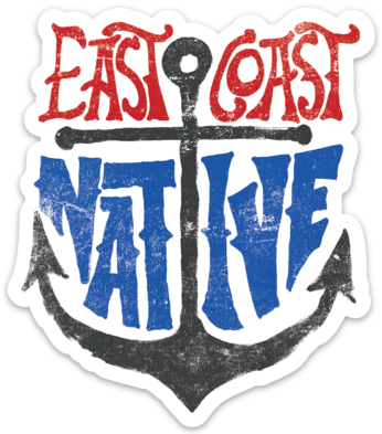 East Coast Native - Sticker