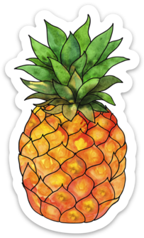 Piña - Sticker