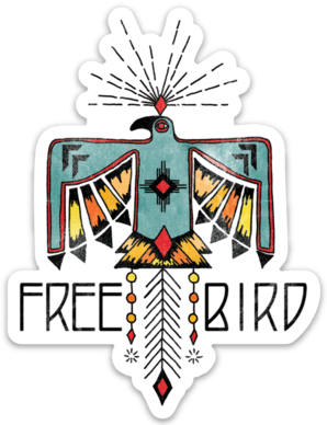 Free Bird- Sticker