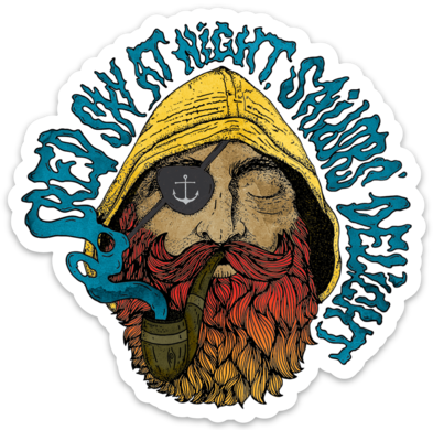 Old Salty- Sticker