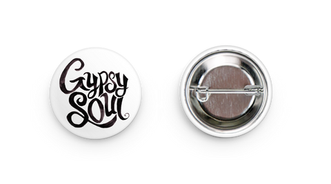 Gypsy Soul - Button