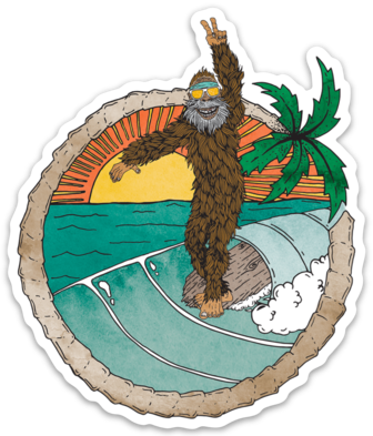 Squatch- Sticker