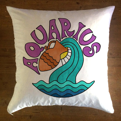 Aquarius  - pillow cover