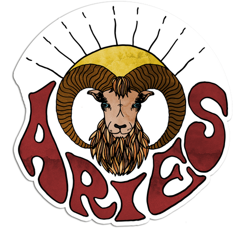 Aries - Sticker