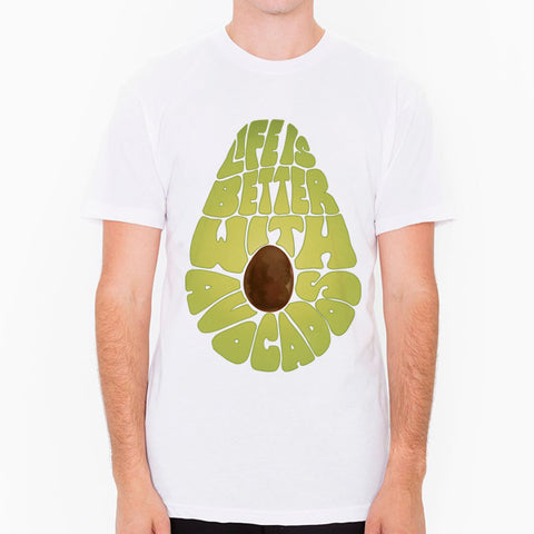 Life Is Better With Avocados - men's