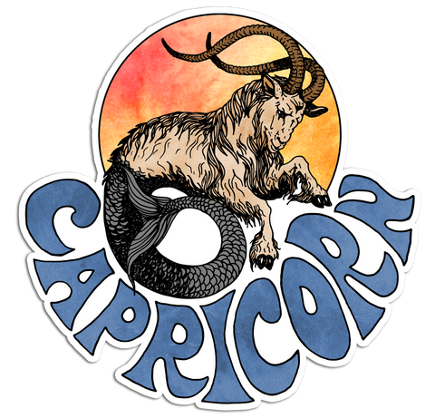 Capricorn - Sticker
