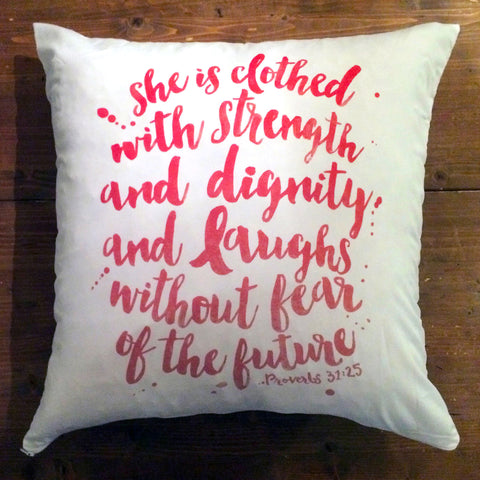 Fearless - pillow cover