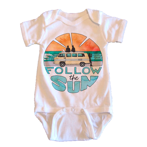 Follow the Sun - onesie